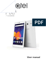 Alcatel Pixi 4 (7) Tablet - Alcatel Pixi 4 (7) Tablet User Guide