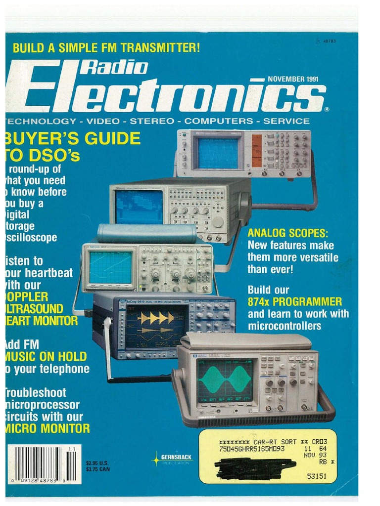 Radio_Electronics_November_1991.pdf | Videotape | Superconductivity