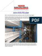 Astm A335 P91Pipe