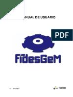 Manual de Usuario Fidesgem
