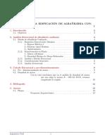 informe albanilero