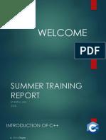 c++ report