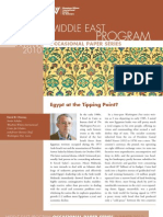 Egypt at the Tipping Point