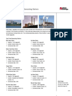 Coal Oil Gas Fact Sheet