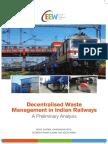 CEEW - Decentralised Waste Management in Indian Railways Jun16