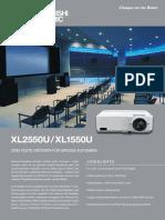 Datenblatt Mitsubishi Xl2550u Xl1550u