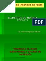 Elementos de Mineria Condiciones de Trabajo II
