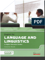 Anthony Manning - Language and Linguistics