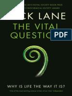 The Vital Question-Lane (Lnw Adam)