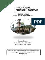 Proposal Masjid Assalam