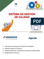 1era Capacitacion SGC ARGENPER