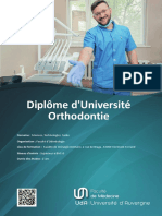 Diplome d'Universite Orthodontie (SALON-27182)