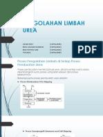 Pengolahan Limbah Urea Ppt