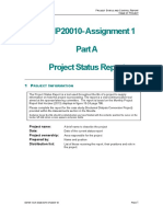 Project Status and Control Reports