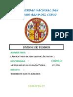 Laboratorio Circuitos Lab Nro6