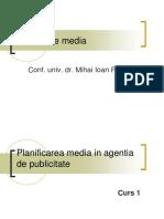 1. Organizarea Agentiei de Publicitate