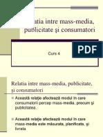 4 Relatia Intre Mass Media Publicitate Şi Consumatori