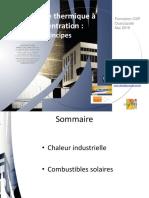 Ouarzazate CSP PROMES 1b Introduction Chaleur Et Combustibles Solaires