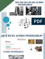 industria inorgánica de ollas de acero inoxidable