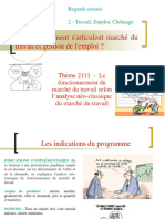 2111- L'analyse néoclassique du marché du travail.ppt