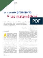 El futuro de las matematicas