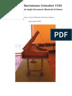 Cristofori Piano 1722