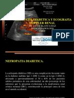 Nefropatia Diabetica,Ecografia y Doppler Renal