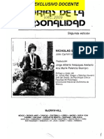 Teorias de La Personalidad - Nicholas S. Dicaprio