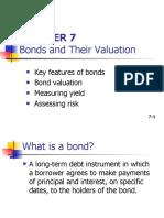 Chapter 07 Bonds