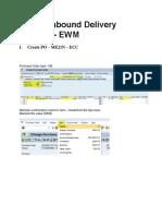 Simple Inbound EWM