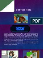 Chat y Los Foros .- Materia