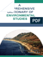 A Comprehensive Dictionary of Environmental Studies