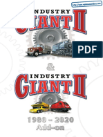 Industry Giant II - Gold Edition - Manual - PC