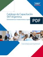 SKF Argentina.Catálogo de Capacitación 2014.Buenos Aires, SKF Argentina, 2014.