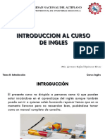 Tema 0 Introduccion Al Curso de Ingles