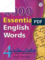 4000 Essential English Words - 4