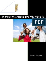 Matrimonios en Victoria
