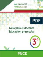 Guia Docente Preescolar PNCE