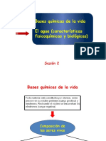 Bioq-clase 02-Bases químicas de la vida y Agua