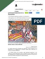 Comida Mexicana, Patrimonio Inmaterial de La Humanidad