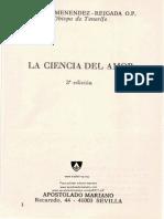 La Ciencia Del Amor, Fr. Albino G. Menendez-Reigada OP