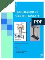 Generador de Van Der Graaff