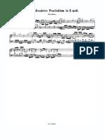 Bach - Pequeño Preludio BWV 932