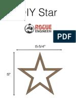 Diy Star Printable PDF