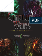 Cthulhu Wars Rulebook - Omega Edition
