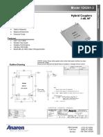 1D0261-3 Hybrid Couplers 3 DB, 90o _DataSheet