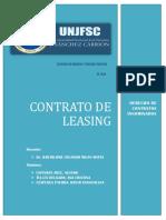Contrato de Leasing Terminado