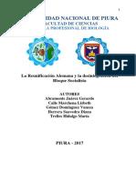 REUNIFICACIÓN DE ALEMANIA Y DESINTEGRACION DEL BLOQUE SOCIALISTA