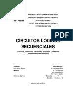 Circuitos Lógicos Secuenciales