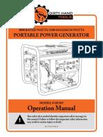 3300W DHT Generator Op Manual Rev B Lowres